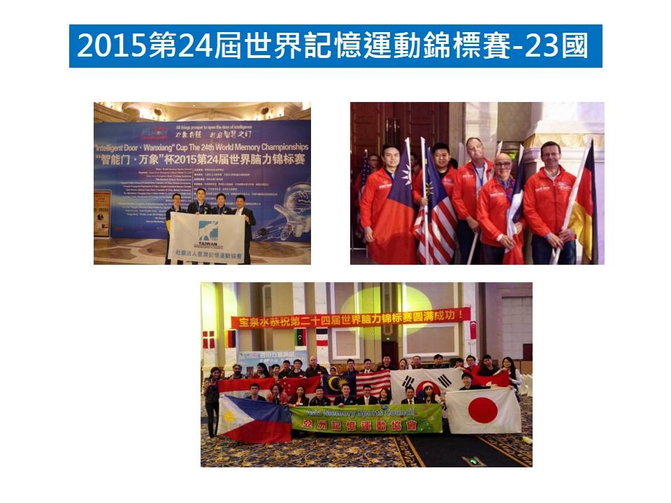 2015世界記憶比賽