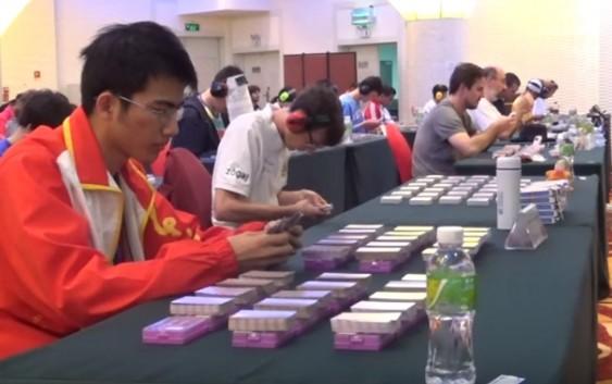 世界記憶大賽|馬拉松撲克牌實況