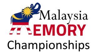 Malaysia Memory Championships – 11th – 12th November